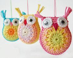 Little Crochet Owls - Free Pattern