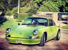 Made for driving #aircooledporsche #restomod #911 #porsche #porsche911 #greenmachine #car #sportscar #porscheclassic  #porschefans #porsche964 #964 by nickfitch
