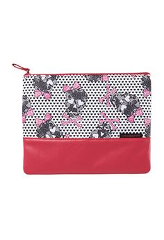 Lace Skulls Cosmetics Case from Peter Alexander