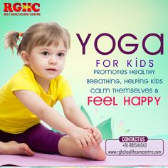 RGHC No.1 health care centre empowering kids to stay fit and healthy through Yoga.