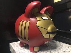 Pig Bank, Toddler Rooms, Bike Run, Avengers Infinity War, Captain Marvel, Iron Man, Pop Art, Black Panther, Diy Projects