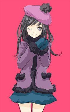 South Park Anime/Manga Style Fan Art from Japan - Anime/manga Style South Park Fanart   Wendy Testaburger