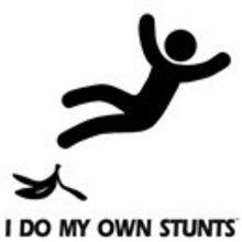 Stunt women for hire!!!