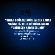 Fatih Sultan Mehmet Han