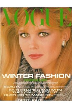Fashion Magazine Covers - Online Archive for Women (Vogue.com UK) NOVEMBER 1980