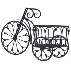 $25 Best Choice Products Patio Mini Garden Bicycle Planter Home Decor Iron Plant Stand