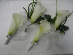 Fancy Calla Wedding