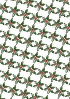 glitter holly background on Craftsuprint designed by Sandra Carlse - I have designed this backing sheet to go with some of my vintage christmas designs. Please click on my name above to see some more of my designs. - Now available for download!