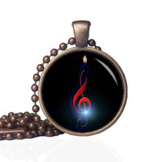 Treble Clef Jewelry - Treble Clef Pendant - Band Necklace - Band Gift - Music Note Necklace - Music Note Pendant - Musical Note necklace by KingFamilyCreations