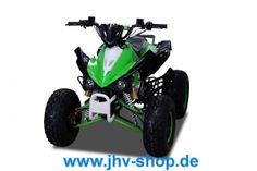 Quad, Buggy, Bikes, Trikes,Kinderquadbahn,  Eventartikel und mehr - Kinder Quad ATV 125cc S-12 mit Scheibenbremsen vorne u. hinten