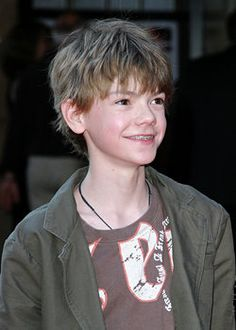 Thomas-Brodie Sangster at the Stormbreaker UK Premiere in 2006.