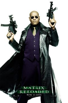 Laurence Fishburne as Morpheus in The Matrix Reloaded Lawrence Fishburne, Matrix Sunglasses, Mind Blowing Movies, The Matrix Movie, Matrix Film, Matrix Reloaded, Carrie Anne Moss, Hugo Weaving, Ideas