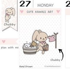 CB026 Laundry Planner Stickers Laundry Stickers Wash