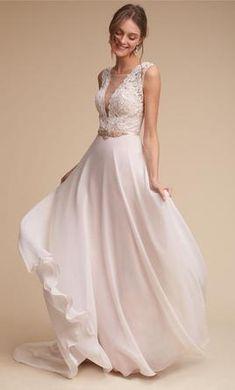 Watters Nova Wedding Dress | New, Size: 10, $1,250 The Wedding Date, Perfect Wedding, Wedding Locations, Wedding Venues, Used Dresses, Chiffon Skirt, Mother And Child, New Dress, Bodice
