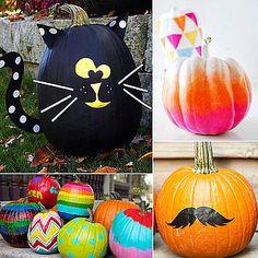 No-Carve Pumpkin Ideas For Kids From Pinterest
