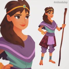 One of the characters designed for #fantasyforeststory #mobile #games #fantasy #character #cute #girl #characterdesign #story #animation #art #drawing #illustration #milesdulay