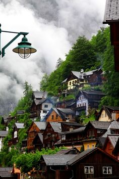 Mountain Village, Hallstatt, Austria