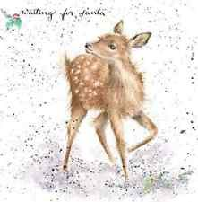 Wrendale Designs - Fawn & Hare - Pack of 10 Christmas Cards