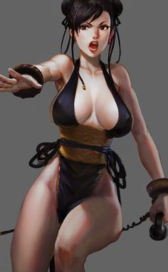 Street Fighter, Chun-li, by youyi