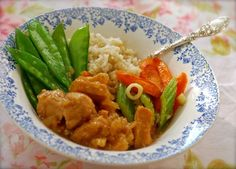 Best Crock Pot Recipes on the Net (June 2014): Crock Pot Hawaiian Pineapple Chicken Brown Rice Bowl