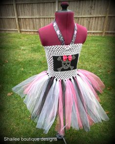 Rock star Punk Tutu dress monster high costumes by shaileeboutique, $50.00