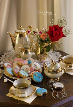 Wonderland inspired tea party.