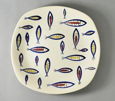 'Fish' by Jessie Tait for Midwinter Pottery | Flickr - Photo Sharing!