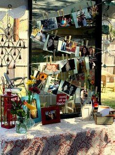 Colorful Vintage Backyard Wedding Shower