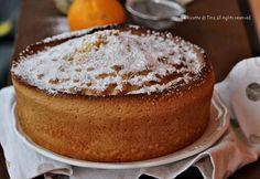 Nuvola all'arancia torta sofficissima e profumatissima,ricetta con e senza bimby,procedimento veloce!Gustatevela per merenda