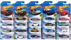 We're opening up new 2019 Hot Wheels cars from the K Case and L Case assortments! The latest cars include the Lamborghini Centenario Roadster, Ford Ranger Ra. Ford Ranger Raptor, Porsche Panamera Turbo, Benz A Class, Lamborghini Centenario, Buy Lego, Hot Wheels Cars, Latest Cars, Diecast Models, Gifts For Kids