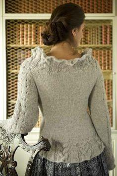 Ravelry: Whisper Cuff Cardigan pattern by Michele Rose Orne