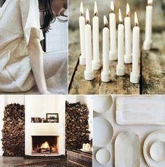 cozy-winter-modern-rustic-organic-white-brown-wedding ideas