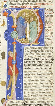 Bible, MS M.436 fol. 383v - Images from Medieval and Renaissance Manuscripts - The Morgan Library & Museum