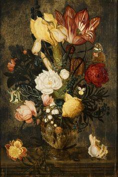 Flowers in a glass by atelier Ambrosius Bosschaert the Elder.jpg