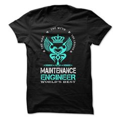 FUNNY MAINTENANCE ENGINEER WORLD'S BEST T Shirts, Hoodies. Check price ==► https://www.sunfrog.com/Faith/Best-Seller--MAINTENANCE-ENGINEER--WORLDS-BEST.html?41382