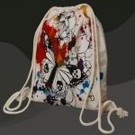 ButterFly Tattoo - Drawstring Backpack