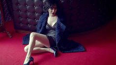 Ga In says 'FxxK U' through release of intense MV Ga In, Brown Eyed Girls, Face Claims, Pretty Woman, Actors, Korean Music, Sayings, Internet, Kpop