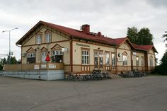 Ylivieskan rautatieasema