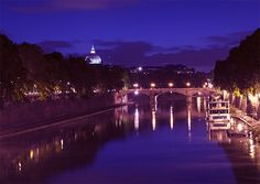 Tevere River, Rome, Italy, photographed by www.gillyfish.com Rome Italy, Beautiful Images, Dolores Park, River, City, Display, Backgrounds, Rivers