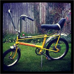 Another Retro Vintage Raleigh Chopper in Classic Yellow, available from Hemel Hempstead, Hertfordshire