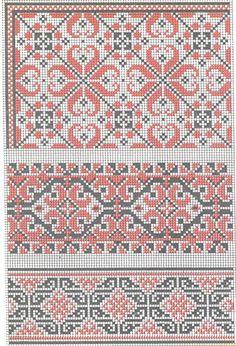 """ukrainian folk embroidery: stars  mye vi ser på som """"norsk"""" som er ganske internasjonalt"""