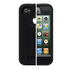 Otterbox Defender Series Hybrid Case & Holster for iPhone 4 & 4S  - Retail Packaging - Black (Wireless Phone Accessory)  http://www.amazon.com/dp/B005SUHRH6/?tag=goandtalk-20  B005SUHRH6