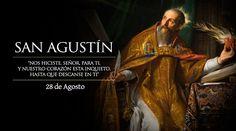 San Agustín, Ob. de Hipona y Dr. de la Iglesia