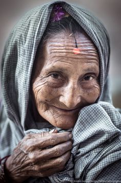 Old nepalese woman portrait by Arsenii Gerasymenko on People Photography, Portrait Photography, National Geographic Photography, Old Faces, Female Portrait, Woman Portrait, Face Expressions, Brigitte Bardot, Interesting Faces