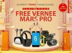 Anche GearBest ha il suo Prime Day: si vincono smartphone e gadget hi-tech