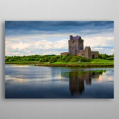 "Beautiful ""Dunguaire Castle is a metal poster created by Svetlana Sewell. Our Displate metal prints will make your walls awesome. Artwork Prints, Cool Artwork, Poster Prints, Wild Atlantic Way, Into The West, Tower House, Irish Art, Ireland Travel, Print Artist"