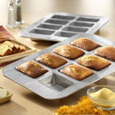 Shop USA Pans Mini Loaf Pan at CHEFS.