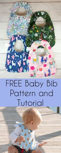 Most up-to-date Absolutely Free sewing tutorials toddler Concepts Free Baby Bib Sewing Tutorial Baby Sewing Projects, Sewing For Kids, Free Sewing, Crochet Projects, Craft Projects, Craft Ideas, Baby Bibs Patterns, Easy Sewing Patterns, Sewing Blogs
