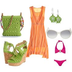 beach party outfit