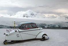 Messerschmitt snow machine